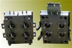4 cavities Preform Mould